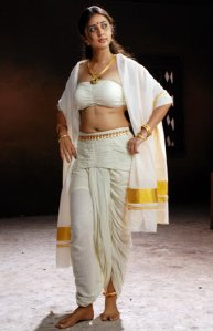 kaniha in a set mundu