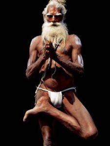 yogi with a kaupina, langot