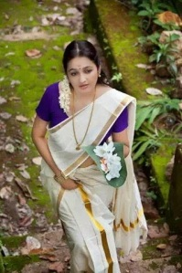 Aavaana telugu actress in a set saree