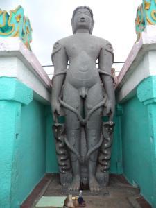 Statue of Bahubali at Gommatagiri