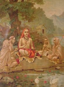 Shankaracharya - A Painting by Raja Ravi Varma