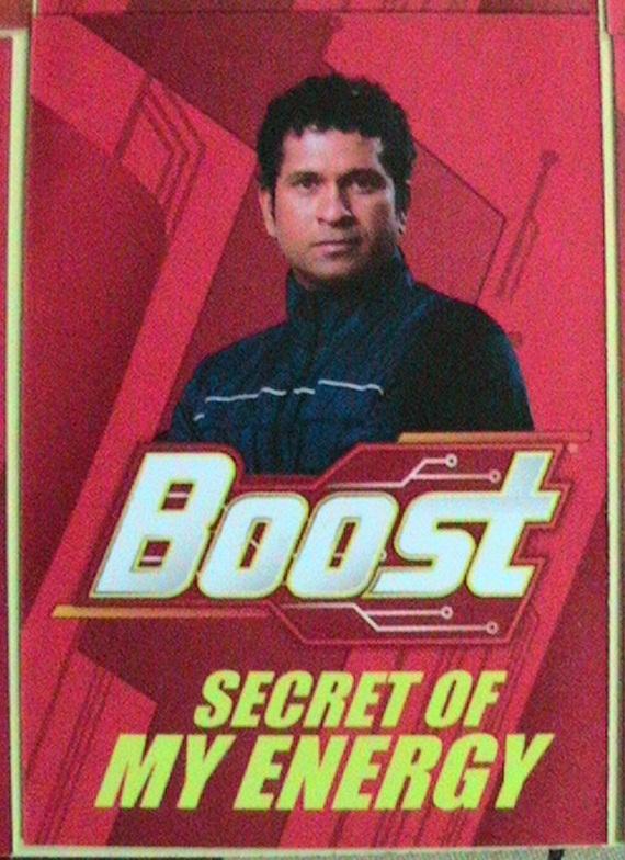 sachin tendulkar boost is the secret of my energy ad