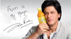 shahrukh khan frooti mango juice ad
