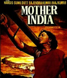 nargis mother india movie poster