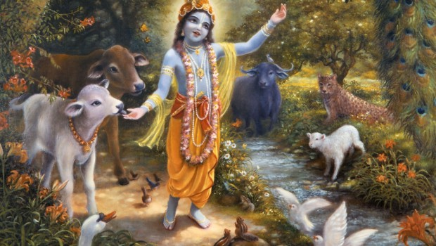 Krishna-with-the-animals-of-Vrindavan-on-the-bank-of-the-Yamuna-River