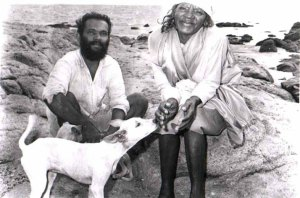 mayamma with her disciple Rajendran