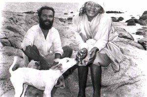 mayamma with her disciple Rajendran