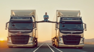 Jean Claude Van Damme Doing an Epic Split for Volvo